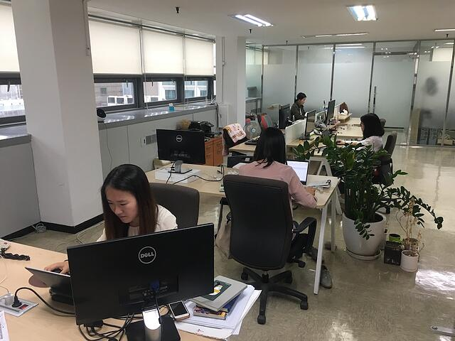 The Team Members of Korea Office