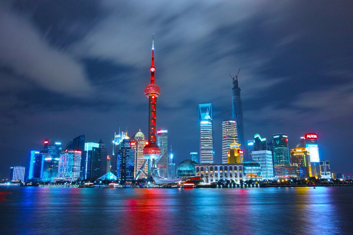 China City Shanghai Night