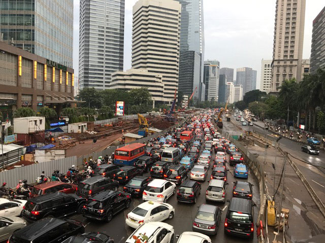 Growth Brings Transportation Issues in Indonesia