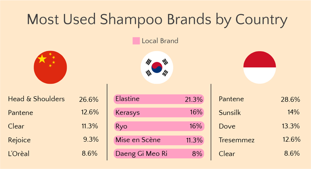 [Case Study] Shampoo Buyer Behavior in China, South Korea and Indonesia