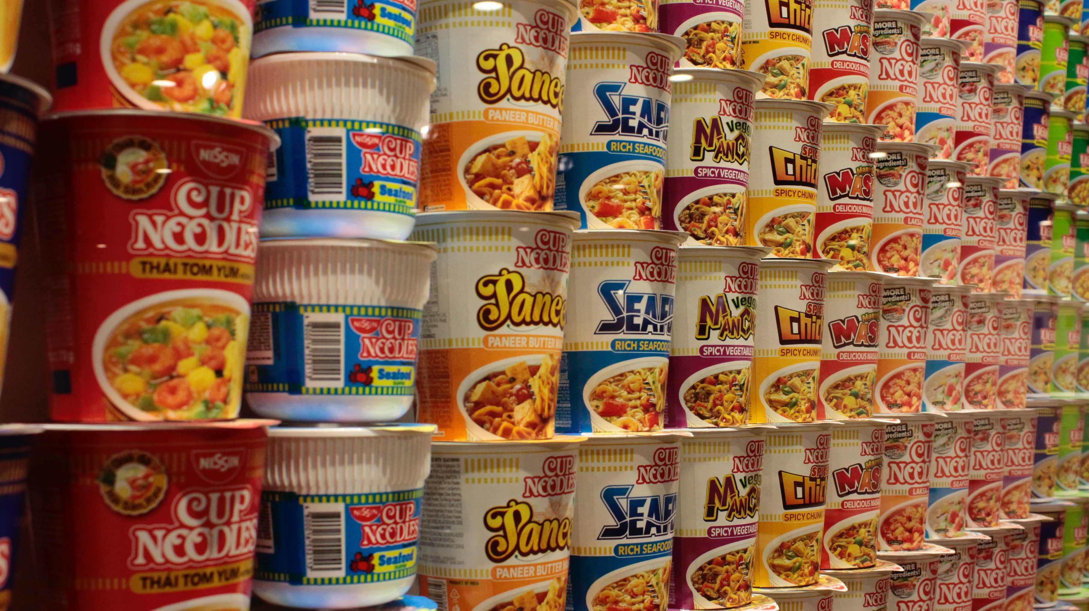 cup noodles, instant noodles, instant ramen