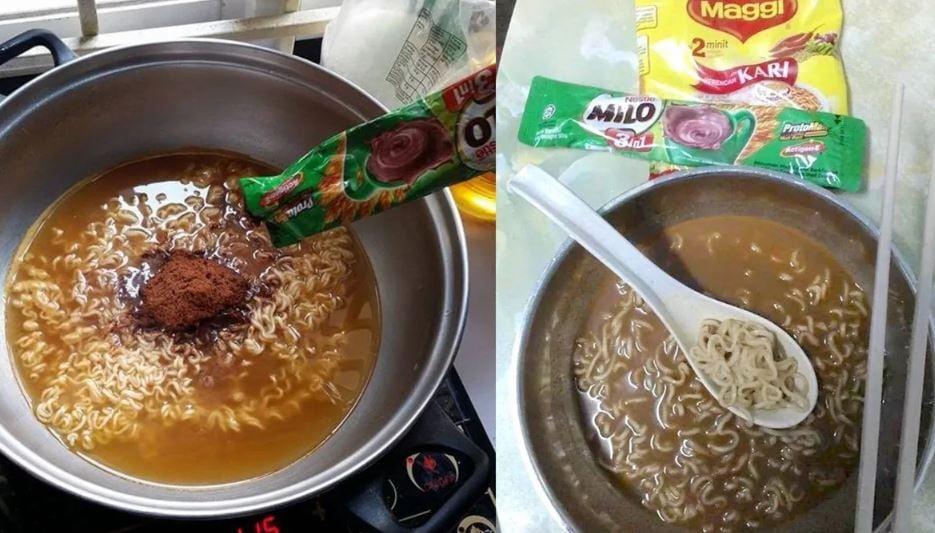 Milo Maggi noodles