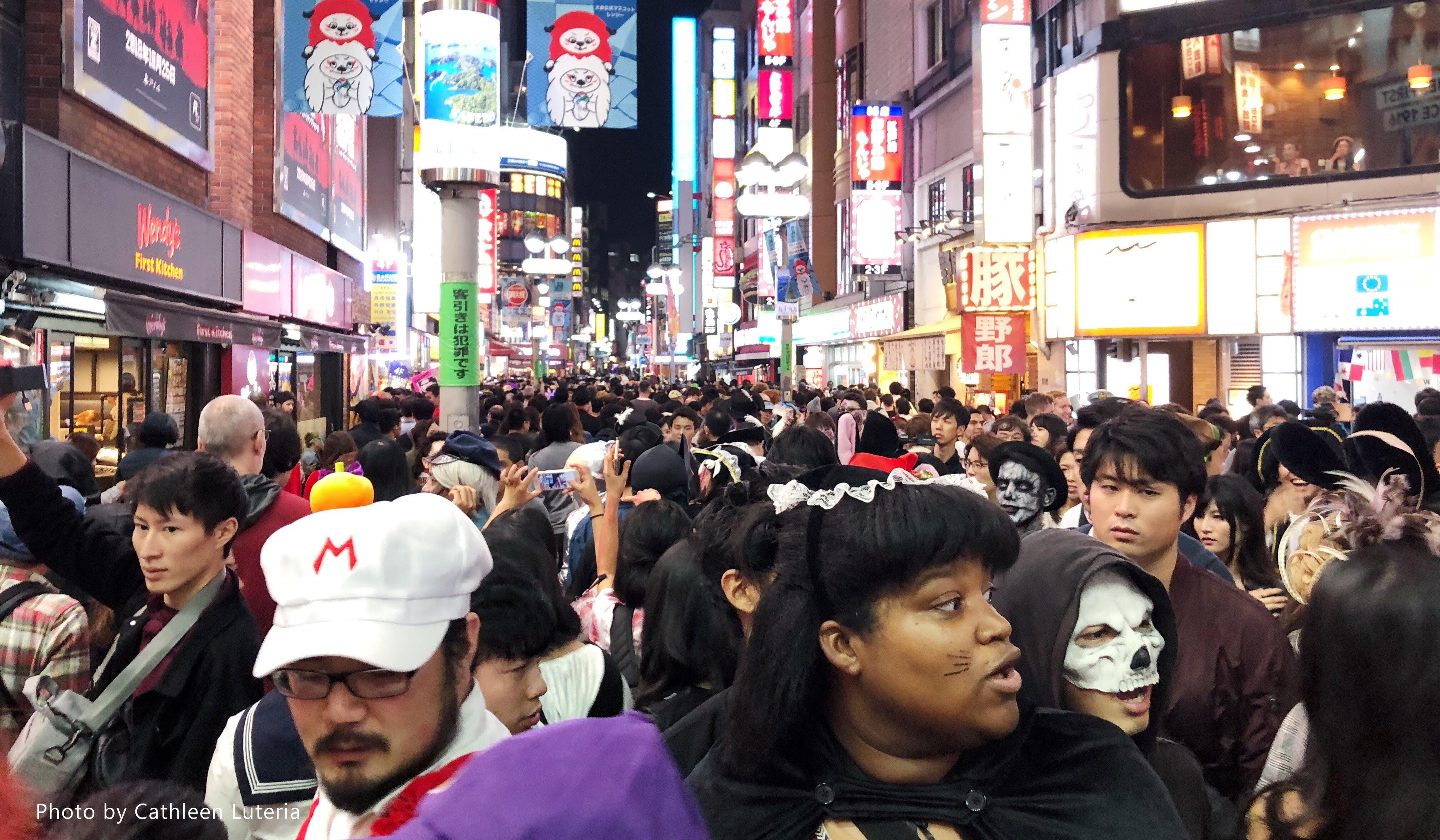 Tokyo's Halloween Revelry, Shibuya