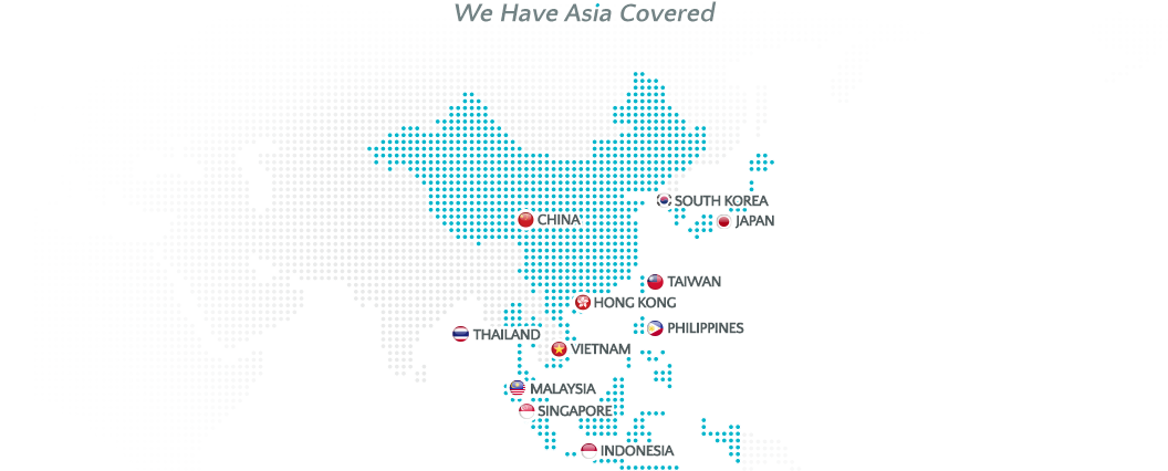 We have Asia Covered