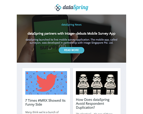 dataSpring Newsletter August 2016