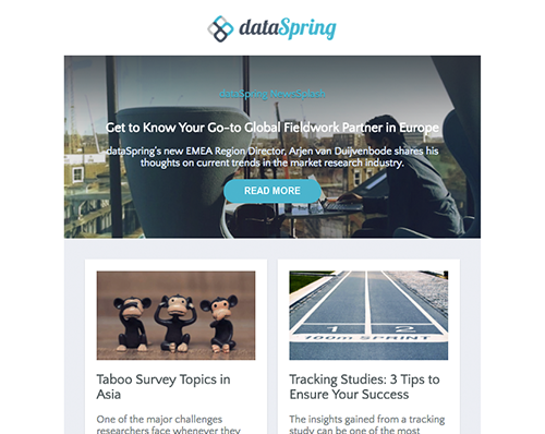 dataSpring Newsletter October 2016