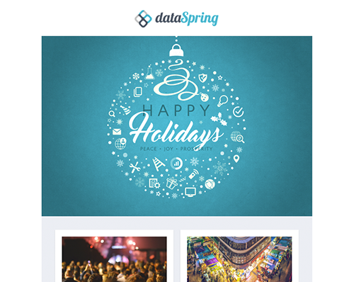 dataSpring Newsletter December 2016