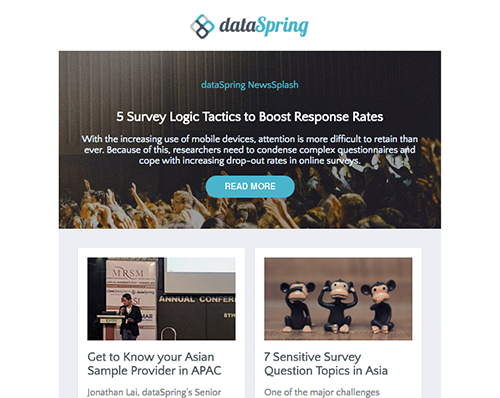 dataSpring Newsletter March 2017