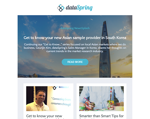 dataSpring Newsletter April 2017
