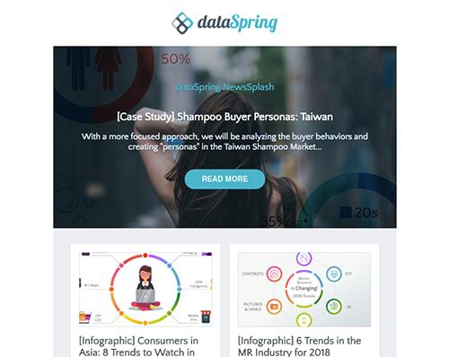 dataSpring Newsletter January 2018