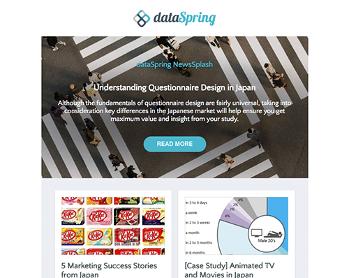 dataSpring Newsletter April 2018