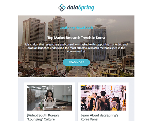 dataSpring Newsletter May 2018