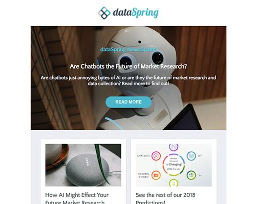 dataSpring Newsletter July 2018