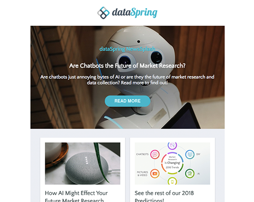 dataSpring Newsletter July 2018