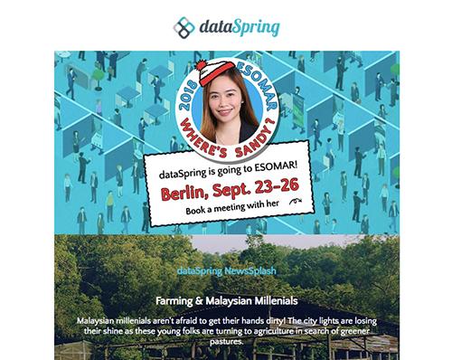dataSpring Newsletter September 2018