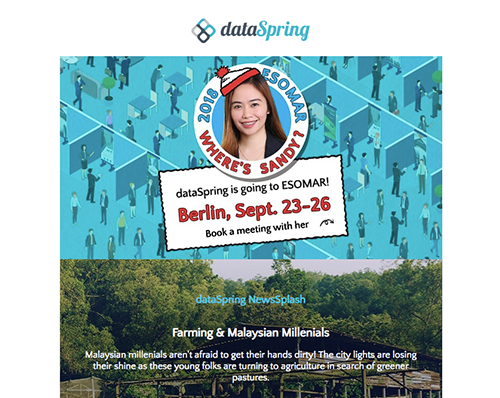 dataSpring Newsletter September 2018