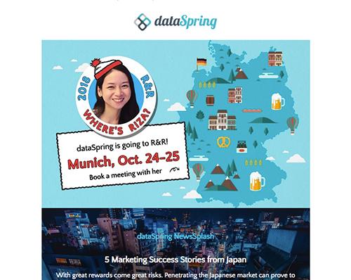 dataSpring Newsletter October 2018