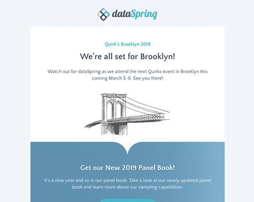 dataSpring Newsletter February 2019