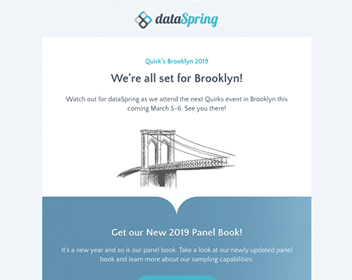dataSpring Newsletter February 2019
