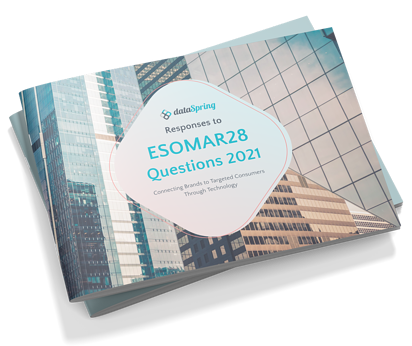 Responses to ESOMAR28 Questions