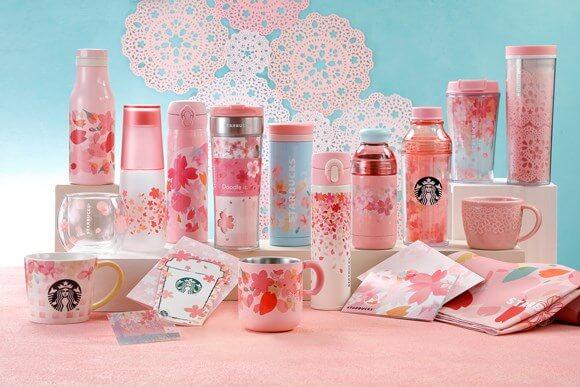 marketing in japan starbucks sakura merchandise