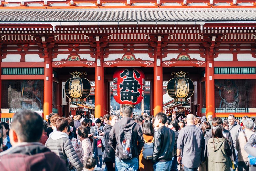 Japan Temple Tokyo Asakusa Sensō-ji