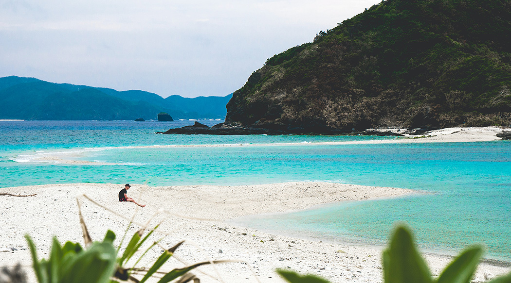 Japan, Zamami Island, Beach