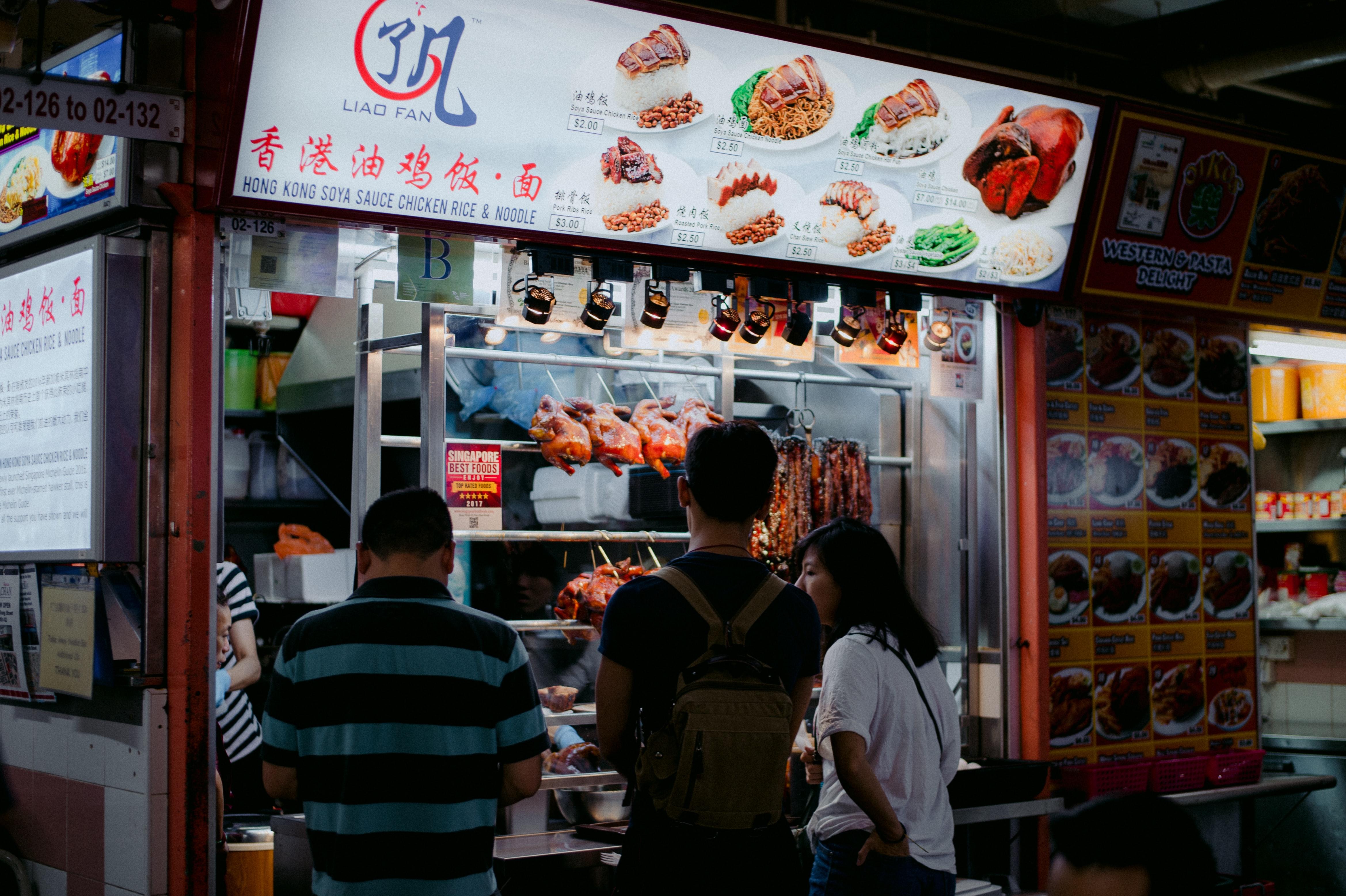 Singapore, hawker, hawker stall