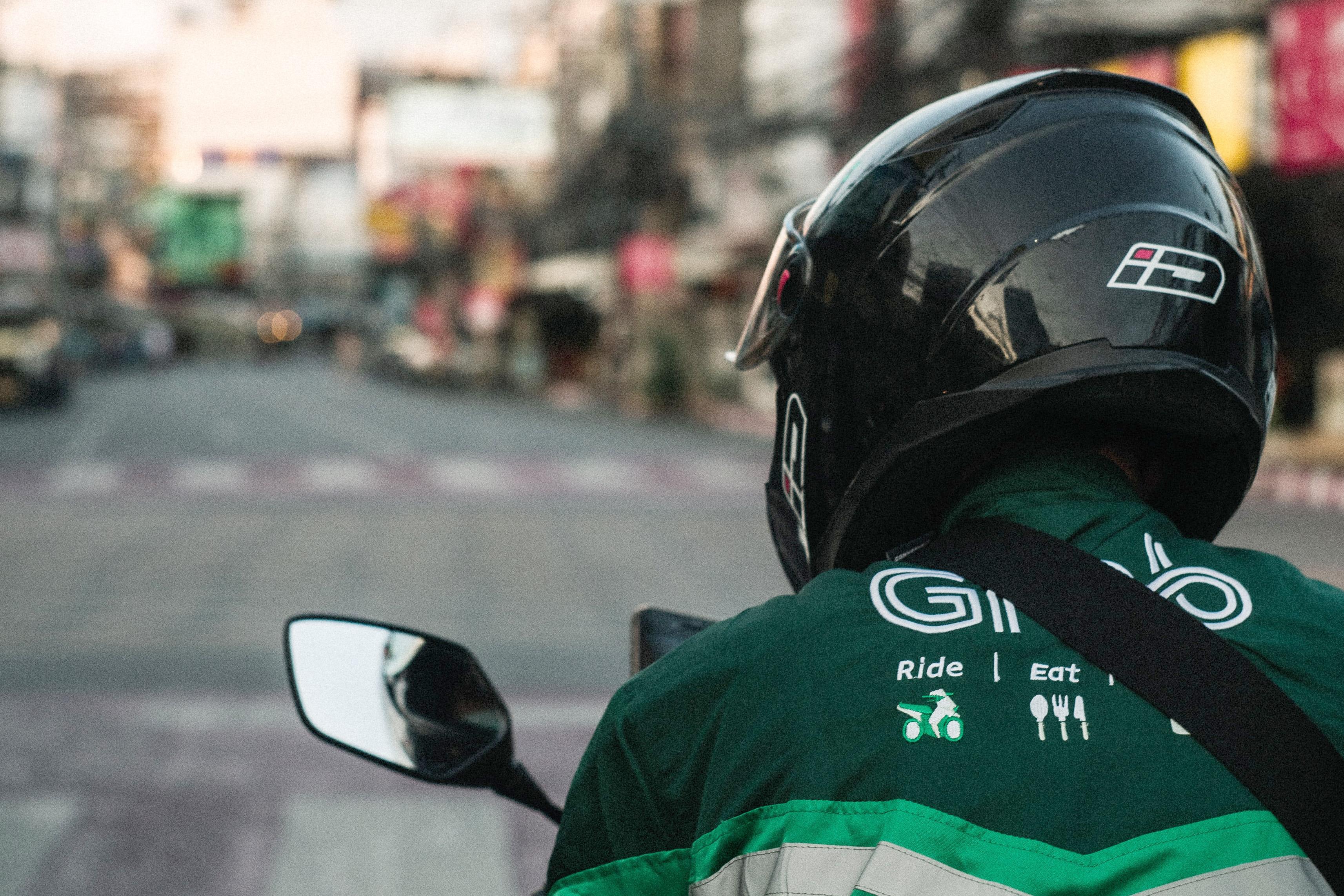 Grab, GrabFood, Grab rider