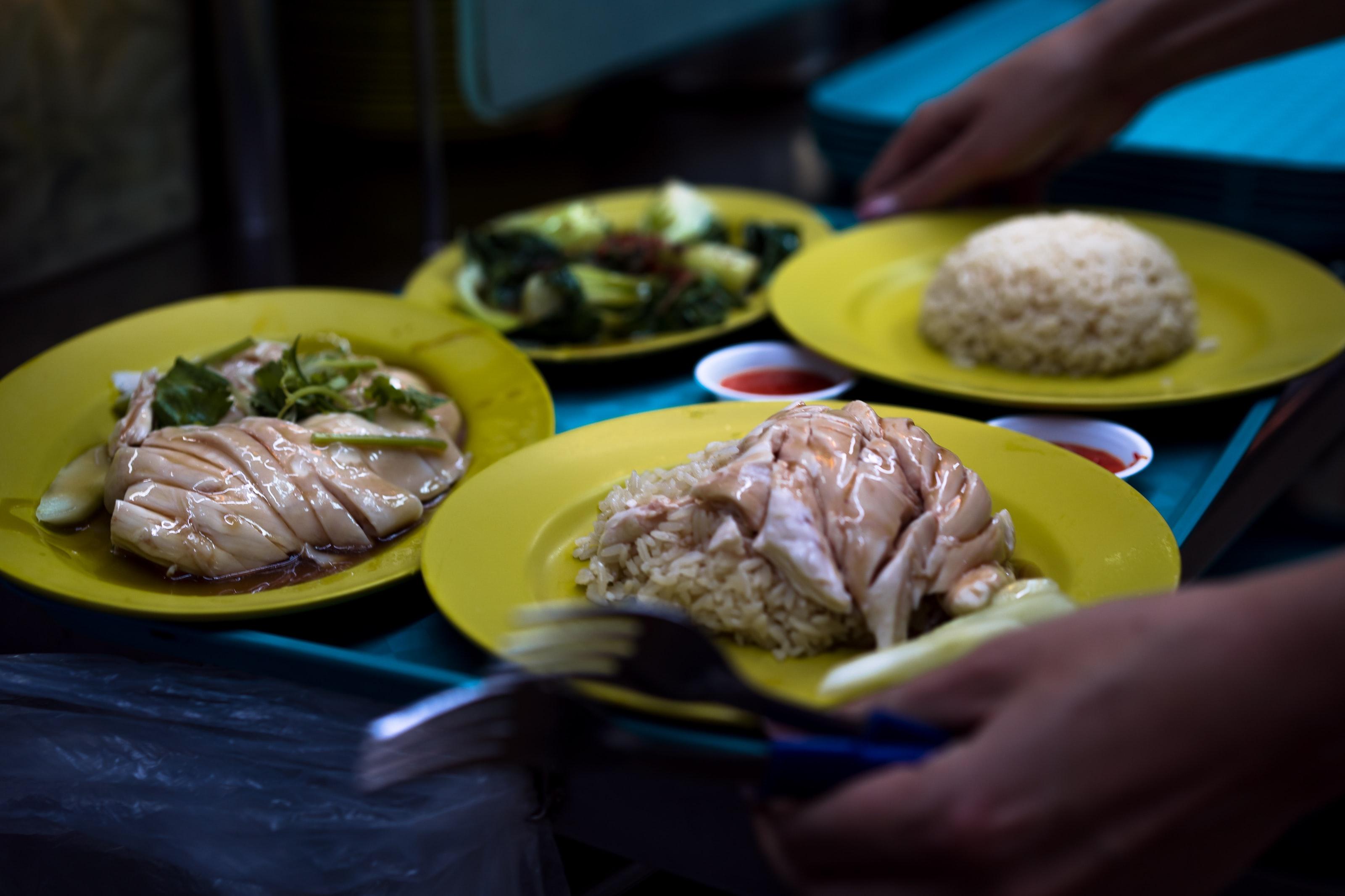 Singapore, hawker, chicken rice
