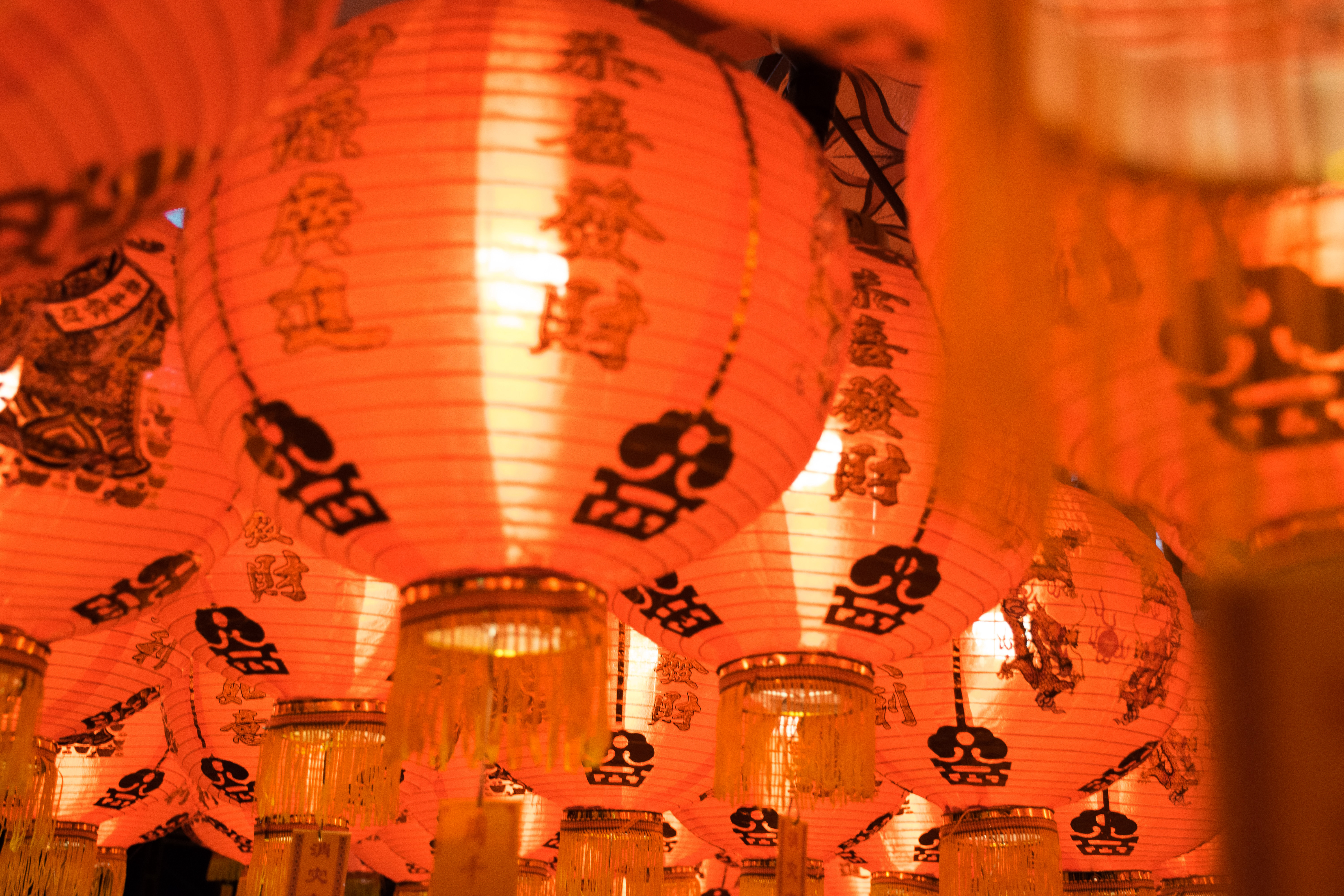 Lunar New Year in China, Chinese New Year, Lanterns