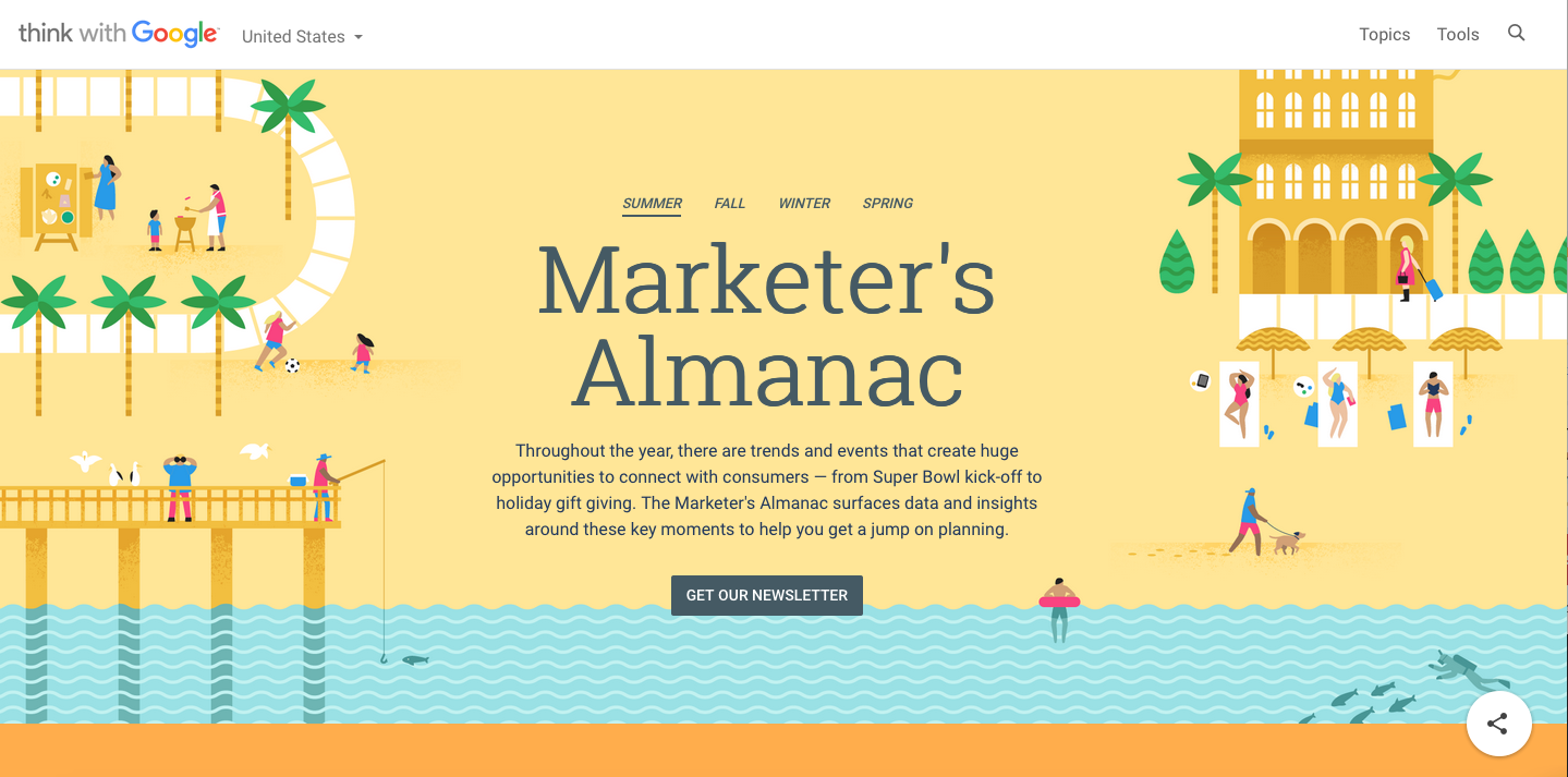 Think With Google: Marketer's Almanac: