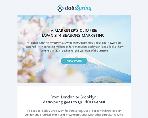 dataSpring Newsletter March 2019