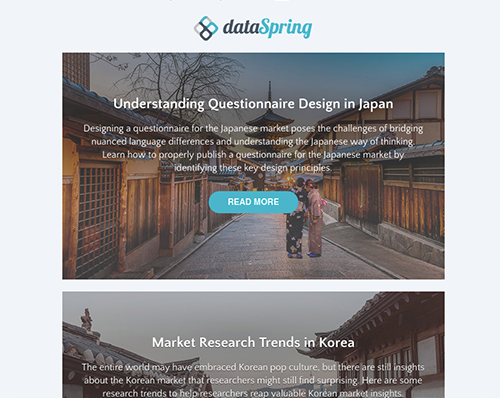 dataSpring Newsletter April 2019