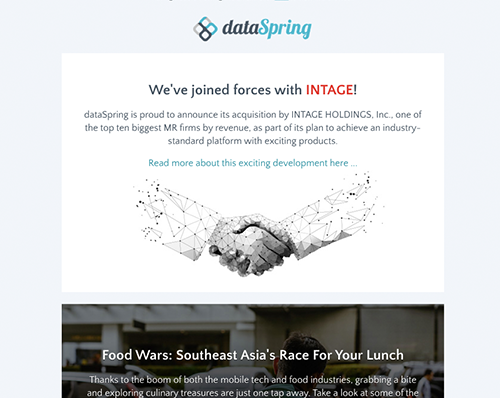dataSpring Newsletter October 2019