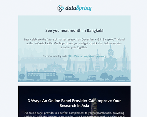 dataSpring Newsletter November 2019