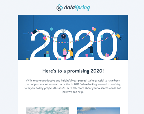 dataSpring Newsletter January 2020